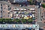France, Pas-de-Calais, Calais, aerial view