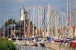 The Netherlands, North Holland, Dugerdam, port