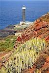 Phare de La Palma, Barlovento, Espagne, Iles Canaries,