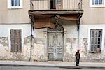 Vieux bâtiment de Chypre, Nicosie,
