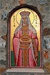 Chypre, Larnaca, monastère de Stavrovouni, icône