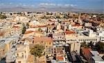Vue générale de Chypre, Nicosie,