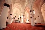 Chypre, Nicosie, à l'intérieur de la mosquée du Sultan Selim