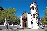 Espagne, Iles Canaries, La Palma, Tazacorte, église de nuestra Señora de las angustias