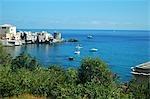 France, Corsica, Erbalunga, genovese tower