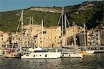 France, Corsica, Bonifacio, port