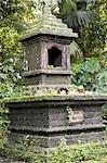 Indonésie, Bali, temple de Pura Luhur Batukaru, autel
