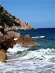 France, Corsica, calanque de Piana