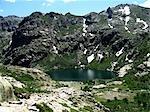 Vallée de la Restonica France, Corse, lac de Melo