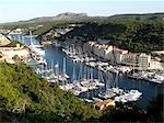 France, Corse, Bonifacio, le port