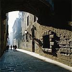 Quartier gothique, à Barcelone (Catalogne) (Catalunya), Espagne, Europe