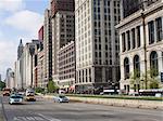 South Michigan Avenue, Chicago, Illinois, États-Unis d'Amérique, l'Amérique du Nord