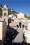 The Amalfi Duomo, Amalfi, Campania, Italy, Europe