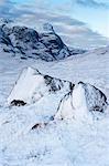 Glen Coe in Winter, Scotland