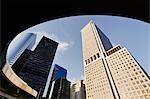 Skyscrapers in Downtown Manhattan, New York City, New York, USA