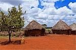 Mud Huts, Marsabit, Kenya