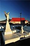 Cemetery, St. Faiths Anglican Church, Rotorua, Bay of Plenty, North Island, New Zealand