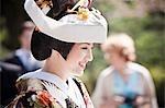 Préfecture d'Ishikawa, Kanazawa, la mariée, région de Chubu, Honshu, Japon