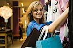 Shopper, portrait