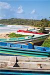 Long Bay, grande île de maïs, maïs îles (Nicaragua), l'Amérique centrale