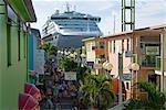 Heritage Quay, Cruising Boat, St.John's, Antigua, Leeward Islands, West Indies, Caribbean, Central America