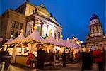 Gendarmen markt Christmas market, Franz Dom and Konzert Haus, Berlin, Germany, Europe