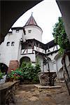 Schloss Bran (Dracula Schloss), Kleie, Siebenbürgen, Rumänien, Europa