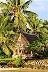 Men's house, Yap, Micronesia, Pacific
