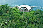Canopée téléphérique tour, l'île de Langkawi, en Malaisie, l'Asie du sud-est, Asie
