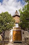 Historic San Antonito Church and cemetery New Mexico, United States of America, North America