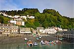 Clovelly village and harbour, Devon, England, United Kingdom, Europe