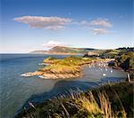 Wir von Widmouth Kopf, Nord-Devon, England, Vereinigtes Königreich, Europa über zu Watermouth