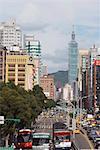 Taipei 101, Taipei, Taiwan, Asie