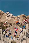 Mount Rushmore National Monument, Dakota du Sud, États-Unis d'Amérique, l'Amérique du Nord