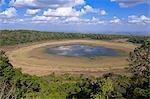 Krater am Marsabit-Nationalpark und Reserve, Marsabit District, Kenia