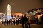 Weihnachtsmarkt, Bratislava, Slowakei