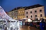 Christmas Market, Bratislava, Slovakia