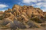Boulders, Joshua Tree National Park, Twentynine Palms, San Bernardino County, California, USA