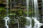 Nahaufnahme des Wasserfalls, Yorkshire, England