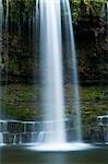 Wasserfall, Brecon-Beacons-Nationalpark, Wales