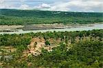 Mékong, Parc National de Pha Taem, Province d'Ubon Ratchathani, Thaïlande