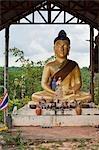 Roadside Bouddha, Province d'Ubon Ratchathani, nord-est de la Thaïlande