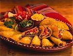 Rindfleisch Taco Platter