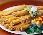 Taquitos mit Guacamole