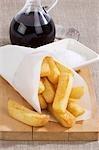Un sac de croustilles avec sel et vinaigre