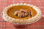 A pumpkin pie (USA)