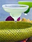 Marguerite en verre avec jante salé (Mexique)