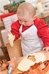 Baby Betrieb Aussparung Weihnachten Kekse
