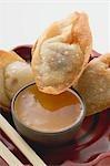 Dimsum frit sauce douce & aigre (Asie)
