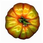 Tomate beefsteak d'en haut